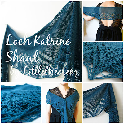 Loch Katrine Shawl knitting pattern