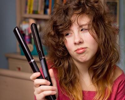Evitez de sécher vos cheveux avec des températures très élevées