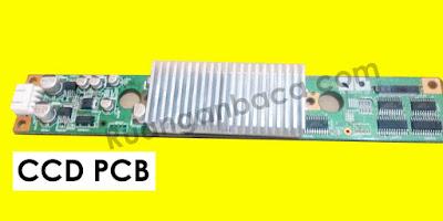 CCD Mesin Fotocopy Letaknya dibelang Laser