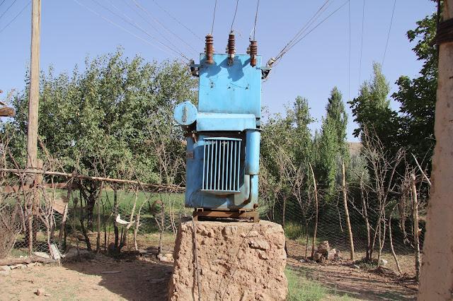 Ouzbékistan, Derbent, transformateur, © L. Gigout, 2012