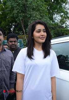 Actress Raashi Khanna Pictures at Haritha Haram Event 0003