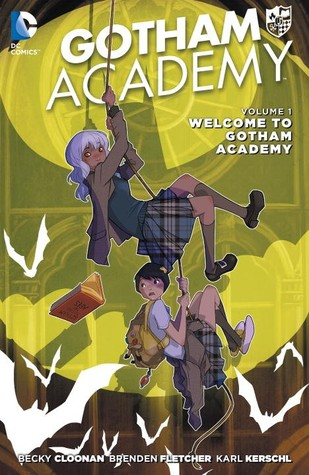 Welcome to Gotham Academy cover