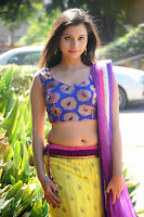 Priyanka Photo Shoot at Oka Chupuke Padipoya Movie launch HeyAndhra