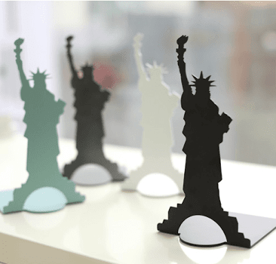 Liberty Satue Bookends