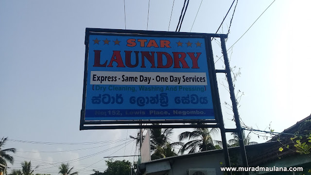 Laundry di Lewis Place, Negombo