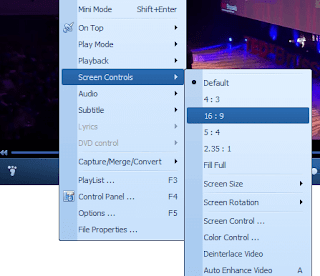 QQPlayer Aspect ratio using Right Click