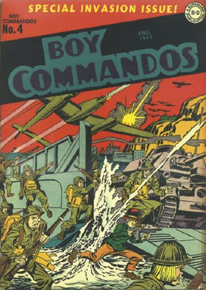Boy Commandos 4 Jack Kirby