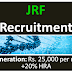 JRF RECRUITMENT NATIONAL BUREAU OF PLANT GENETIC RESOURCES