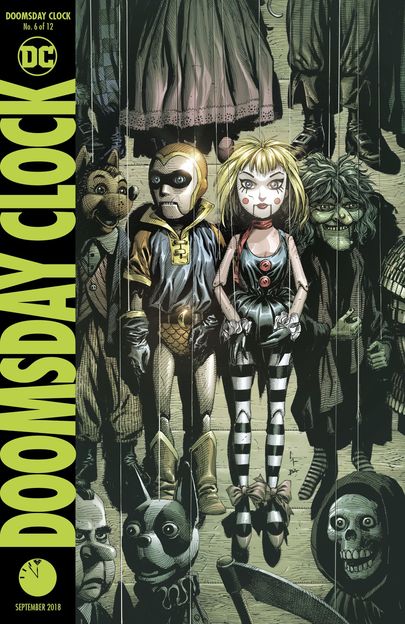 Doomsday Clock Issue 6 Viewcomic Reading Comics Online For Free 2019