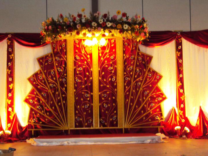 Wedding Snaps Holud Decoration Hall