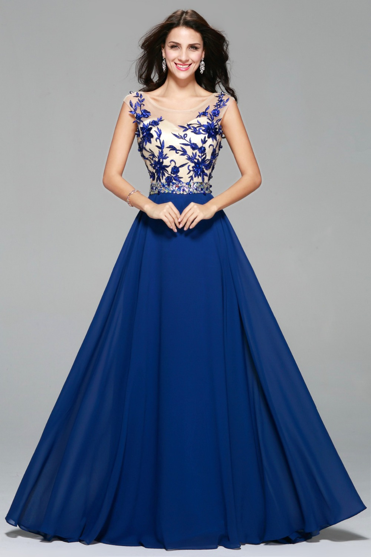 Model Gaun Malam Panjang