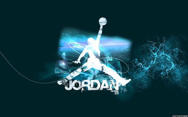 innovative design 504e5 35d18 Michael Jordan Air Logo Widescreen Wallpaper