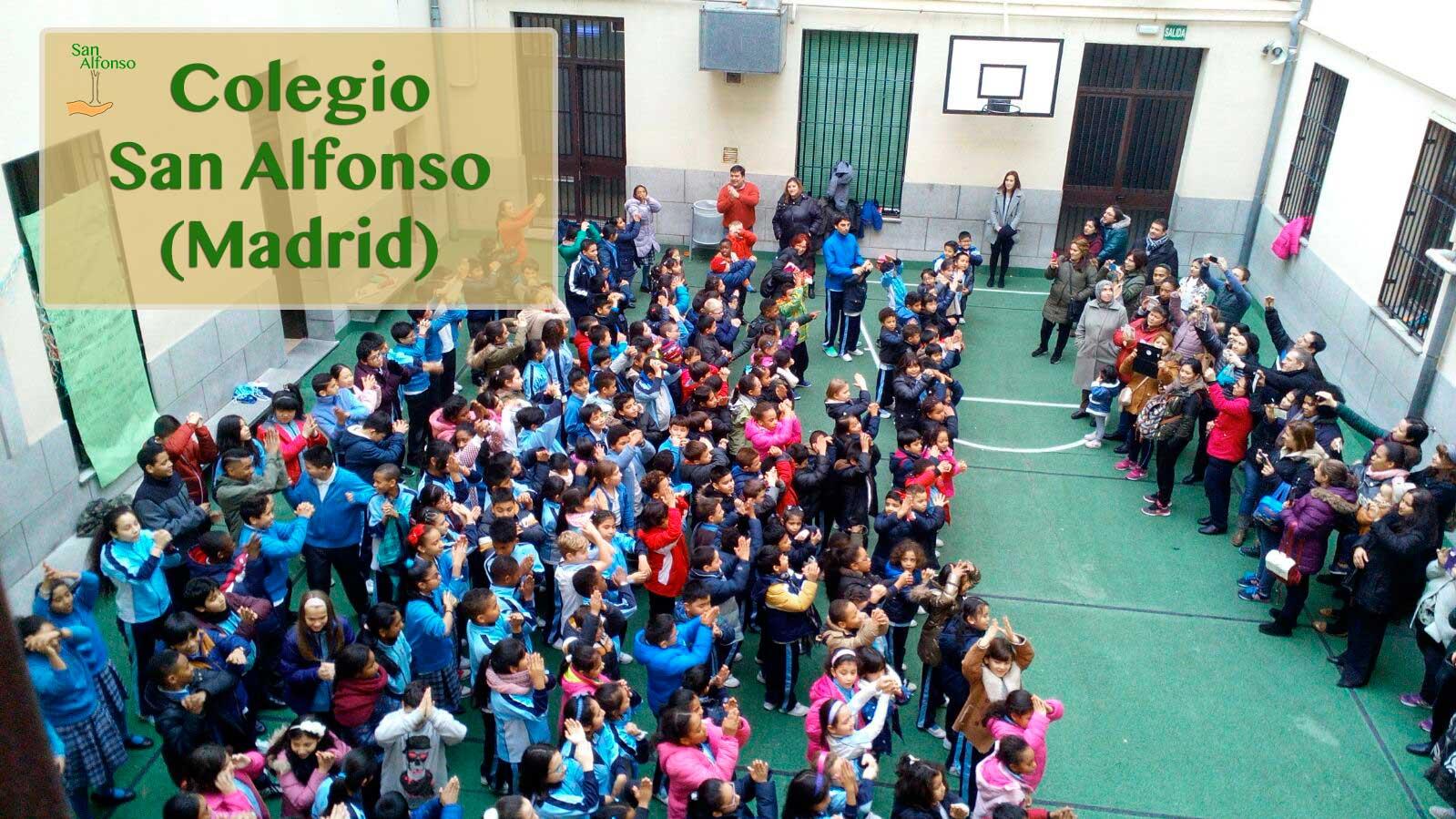 Castilla y leon canta por siria colegio san alfonso madrid - Colegio escolapias madrid ...