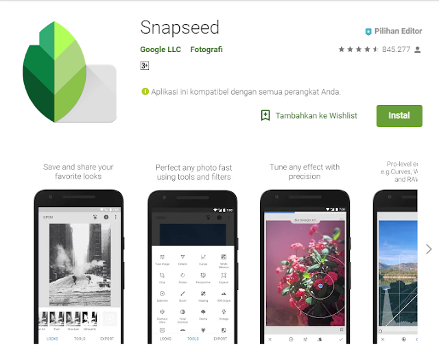 Review aplikasi android edit video