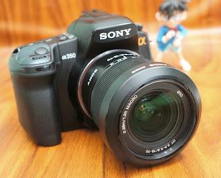 Jual Sony a350 Bekas
