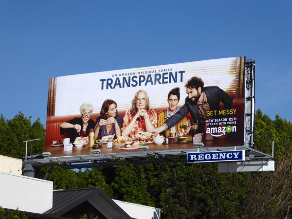 Transparent season 2 Amazon billboard