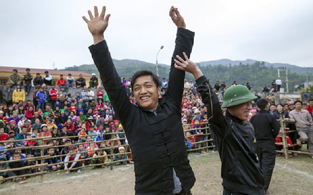 Goat fighting festival in Ha Giang 7