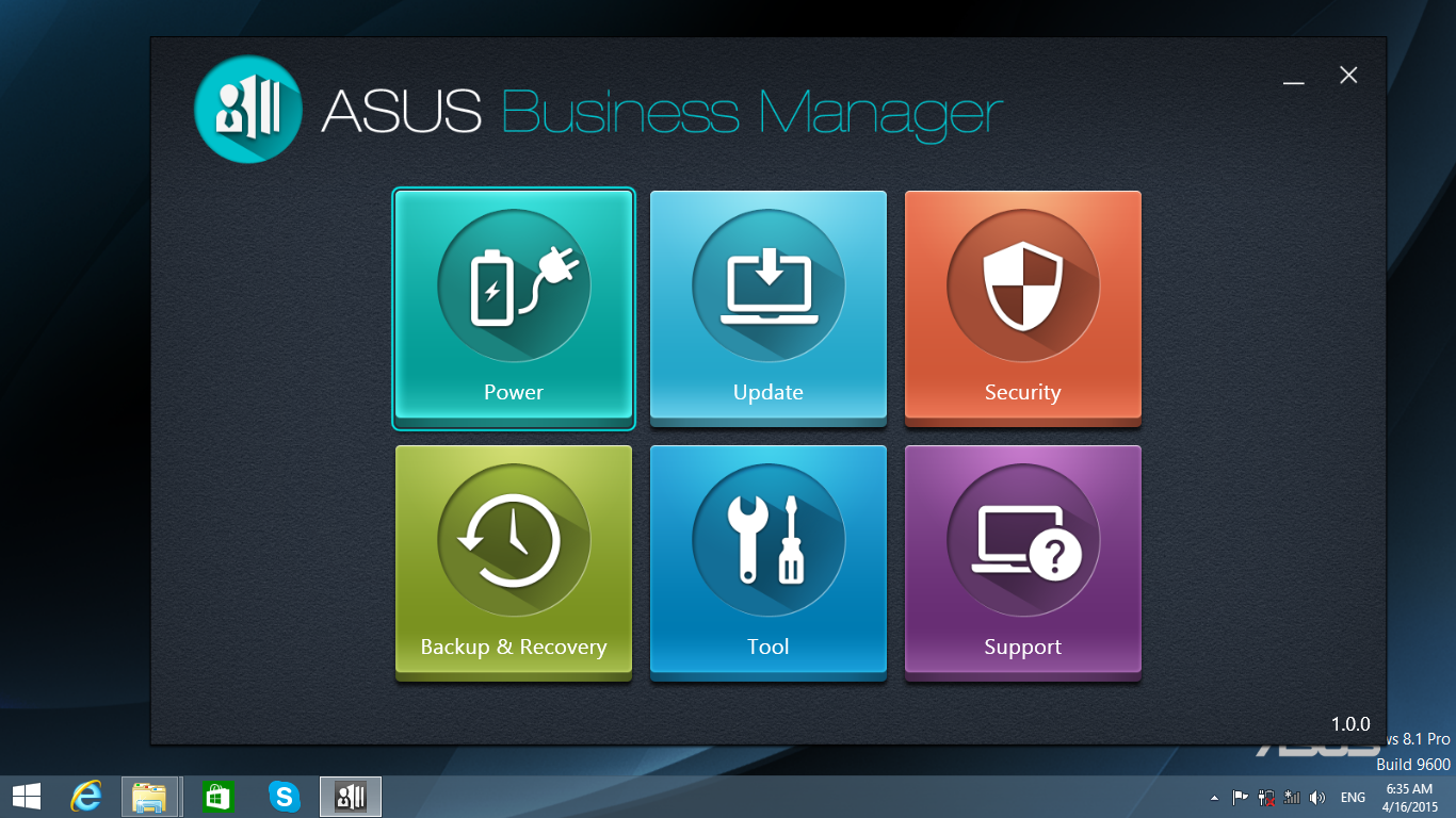 ASUSPRO Business Manager