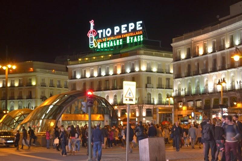 Madrid, espagne, Puera del Sol