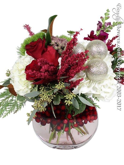 Making Holiday Traditions Christmas Flowers by Everyday Flowers
