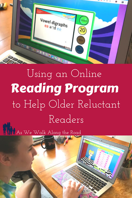 Reading eggs online reading program for older readers