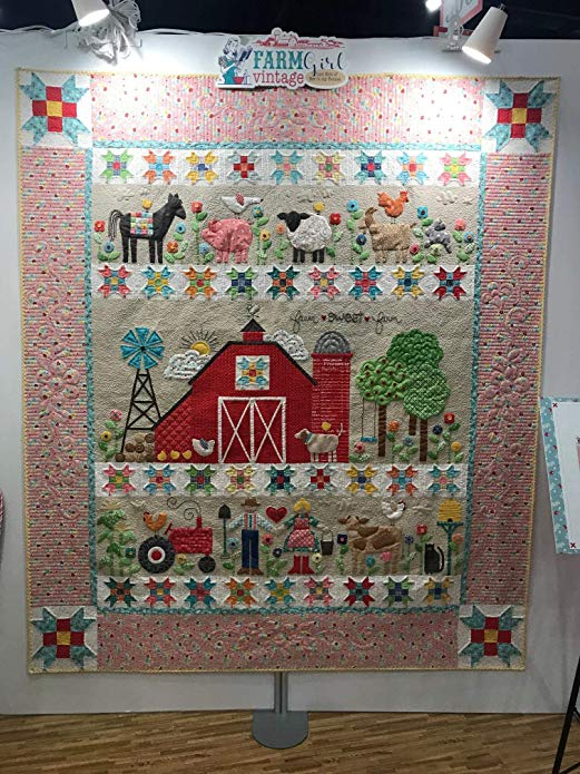 Quilting Land Farm Sweet Farm Quilt