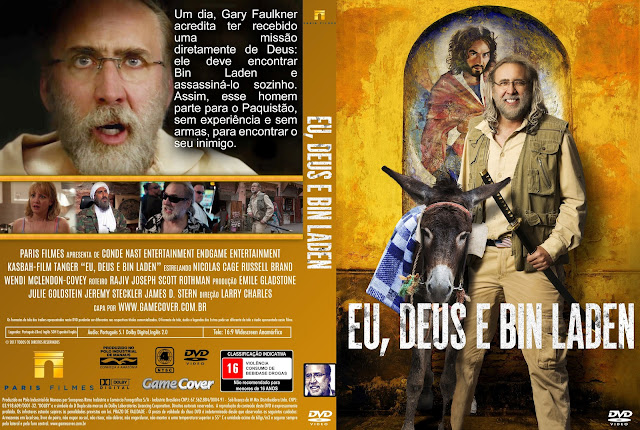 Capa DVD Eu Deus E Bin Laden [Exclusiva]