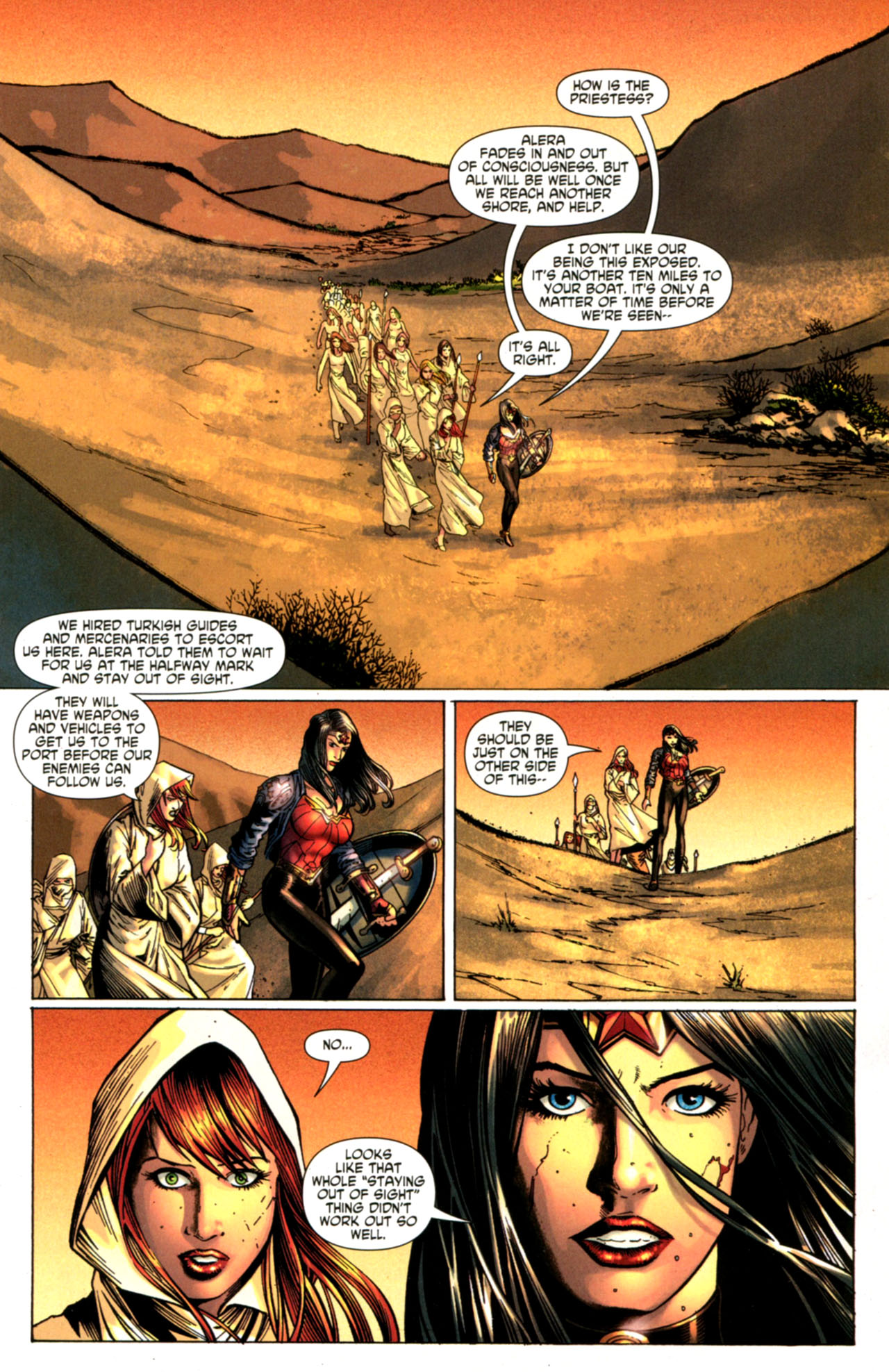 Read online Wonder Woman (2006) comic -  Issue #603 - 2