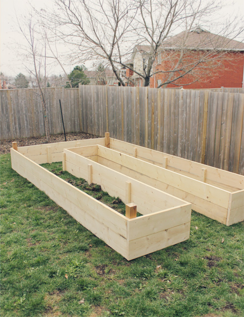 How To Build A Raised U Shaped Garden Bed