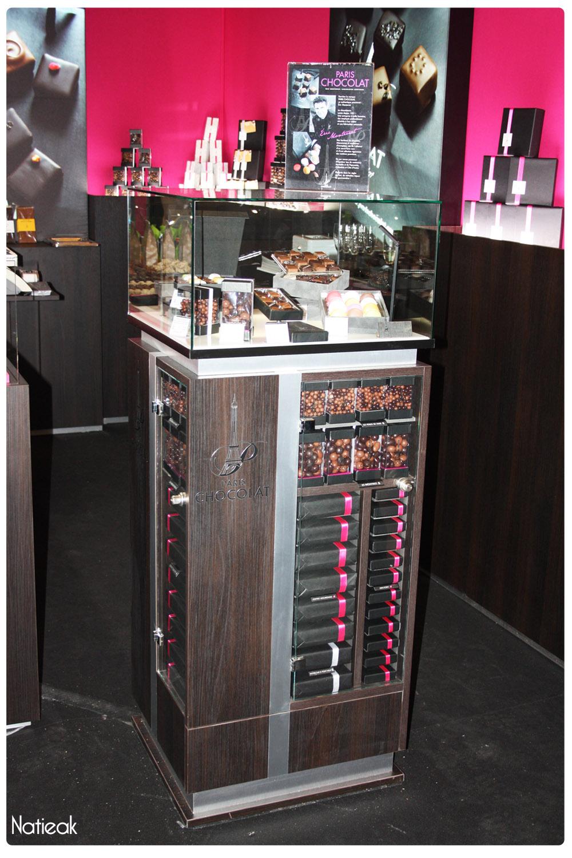 colonne de Paris Chocolat