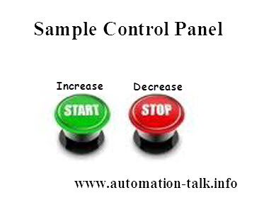 start stop control panel