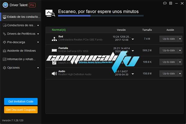 Driver Talent Pro Versión 7.1.28.120 Full Español