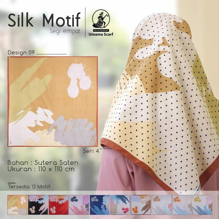 Hijab Segi Empat Terbaru dari UMAMA Scraft