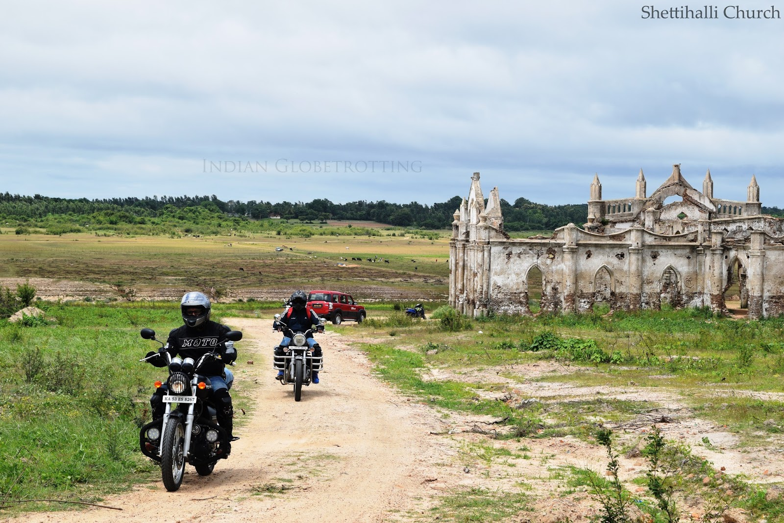 Shettihalli church is one of the best place for bike trip from bangalore