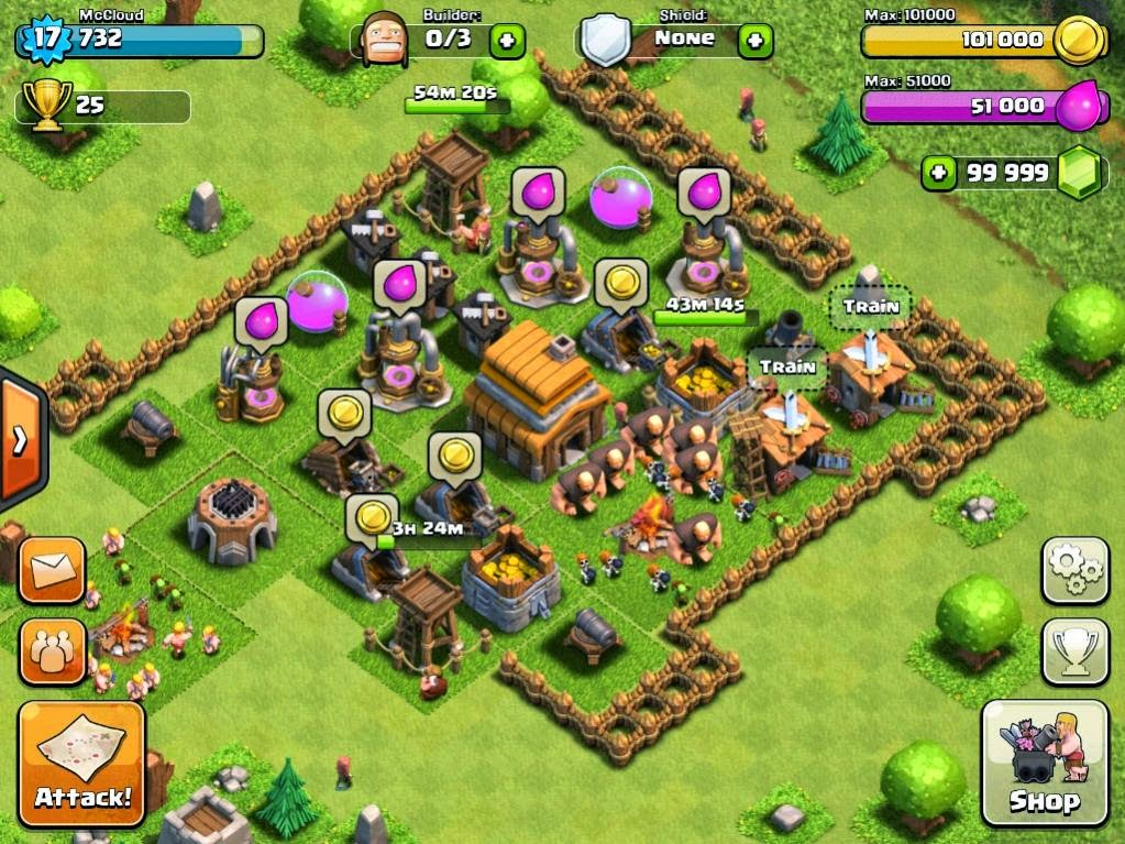 clash of clans pc game