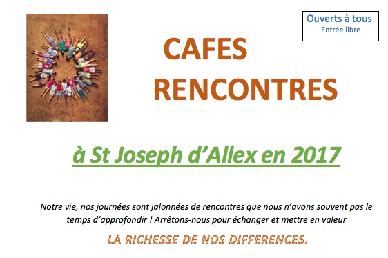 Cafe rencontre st-joseph