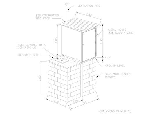 gac  latrine design