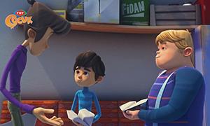 Rafadan Tayfa 55. Bölüm Hikayesi (Kağıt Uçak) - Çizgi Film Hikayeleri