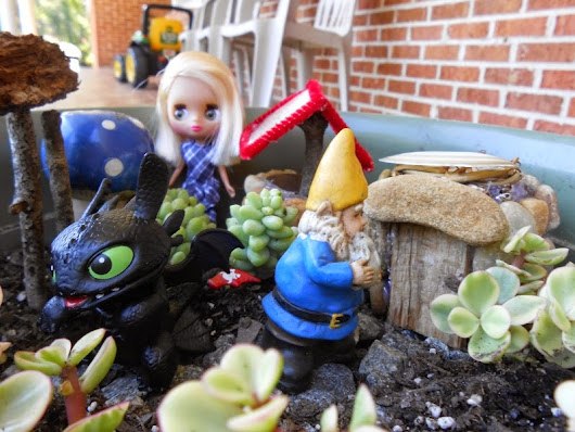Photostory: Poppy and Toothless's adventure!