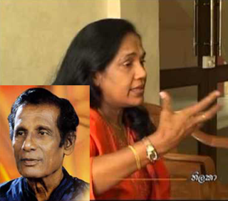 I separated from Saranga's father because of his drunkenness and incompatibility -- Thilaka Ranasingha]
