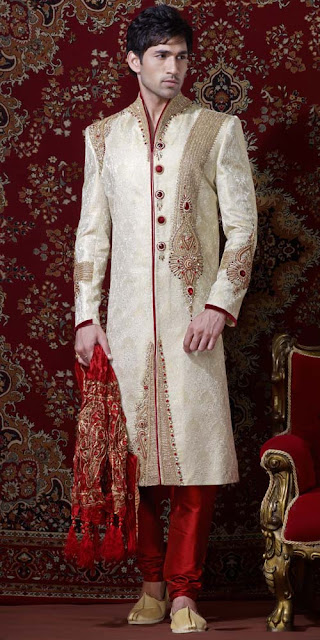 marriage modern sherwani
