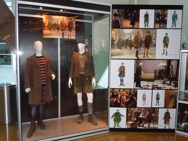 Hugo costume display