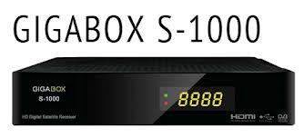 NOVA ATUALIZAÇÃO GIGABOX S1000   V2.23 - 30/09/2017