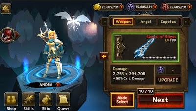 Blade warrior unlimited money