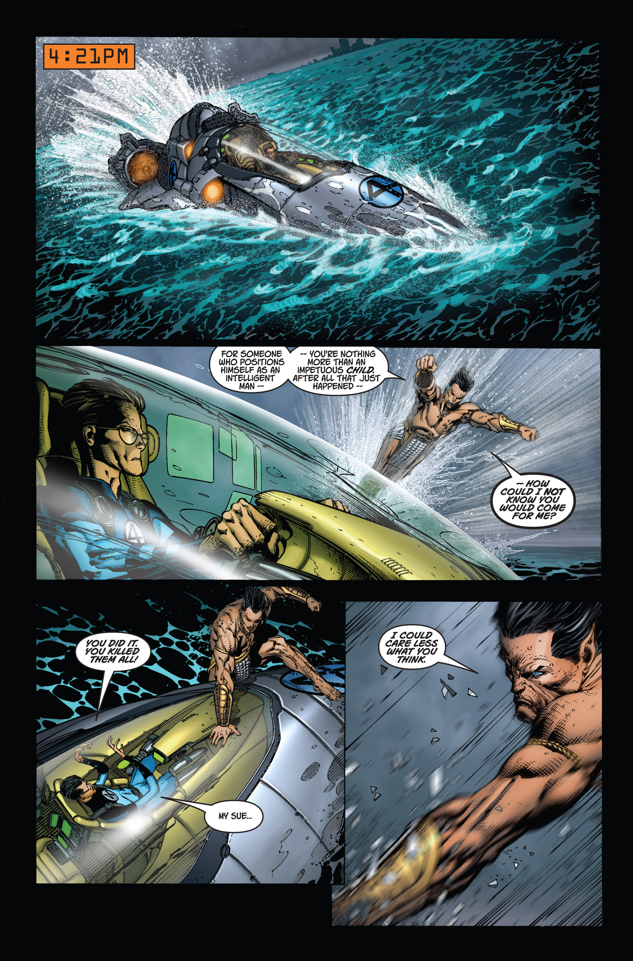 Read online Ultimatum comic -  Issue #1 - 17