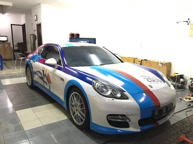 CAR BRANDING VVIP CAR ASIAN PARAGAMES 2018