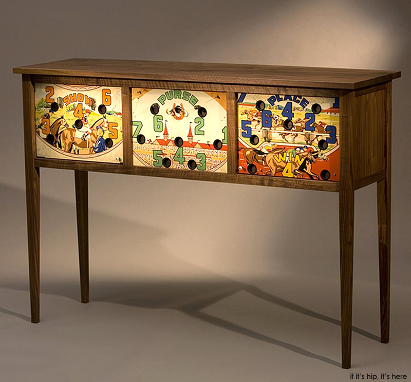Ordinaire Furniture Maker Michael Maxwell Of Virginia Is The Man Behind Silverball, A  Company Which Re Purposes Vintage Pinball Machines As Coffee Tables, ...