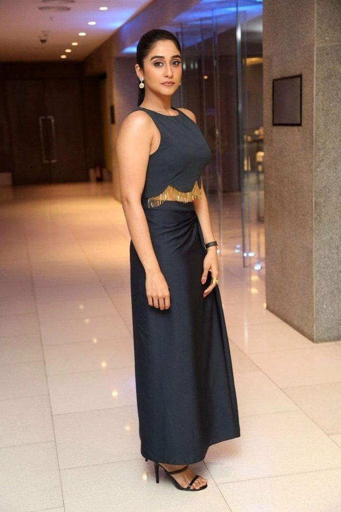 Telugu Movie Success Meet Photos Actress Regina Cassandra