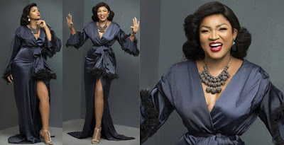 Omotola celebrates 40th birthday gorgeous new photos
