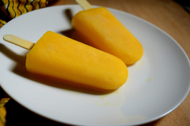 Mango Popsicle | Mango Recipe